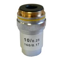 Объектив для микроскопа KONUS 10x (ахроматический)