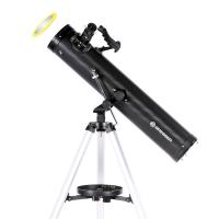Телескоп BRESSER Venus 76/700 AZ Solar filter Carbon с адаптером для смартфона