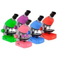 Детский микроскоп BRESSER Junior 40x-640x (в 5 расцветках)