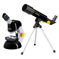 Детский микроскоп NATIONAL GEOGRAPHIC Junior 40x-640x + Телескоп 50/360 (Base)