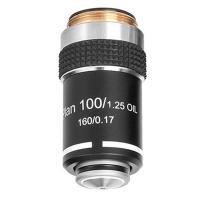 Объектив для микроскопа SIGETA Plan Achromatic 100x/1.25 OIL