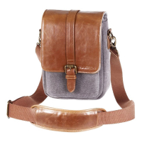 PRAKTICA Сумка для бинокля Heritage (Grey/Tan)