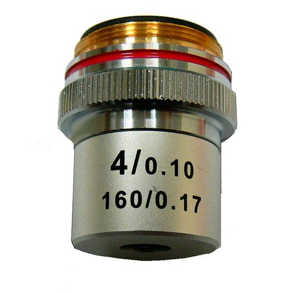 купить Объектив для микроскопа KONUS 4x (ахроматический)