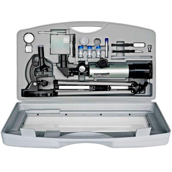 купить Телескоп BRESSER Junior 50/350 + Микроскоп 300x-1200x