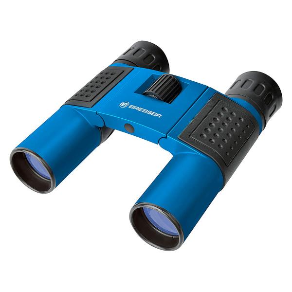 купить Бинокль BRESSER Topas 10x25 (Blue/White)