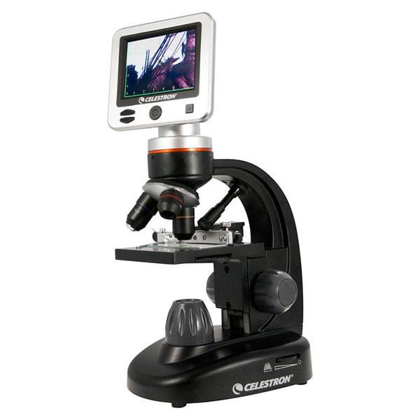 купить Цифровой микроскоп CELESTRON 40x-400x LCD Digital II