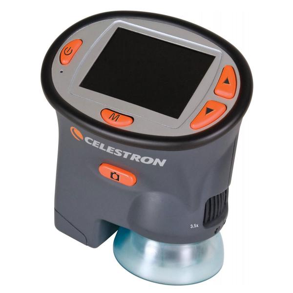 купить Цифровой микроскоп CELESTRON LCD Handheld BOX 3.7-54x 3Mpx