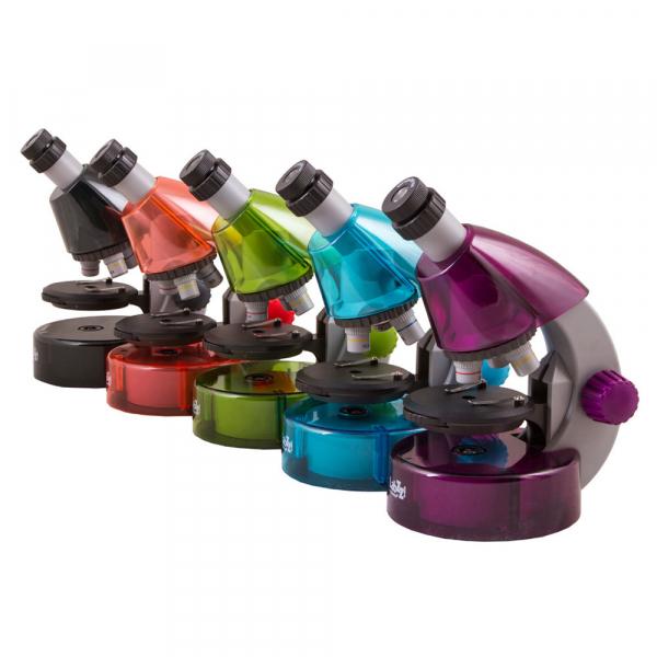 купить Детский микроскоп LEVENHUK LabZZ M101 40x-640x (в 5 расцветках)