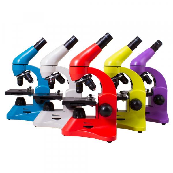 купить Микроскоп LEVENHUK Rainbow 50L 40x-800x (в 5 расцветках)