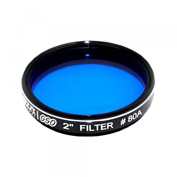 """купить Фильтр DELTA OPTICAL GSO №80A (синий) 2"""""""