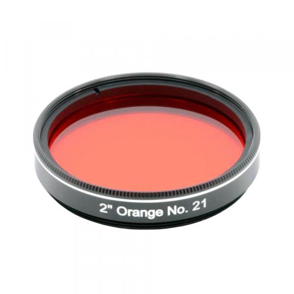 """купить Фильтр GSO цветной №21 (оранжевый), 2"""""""