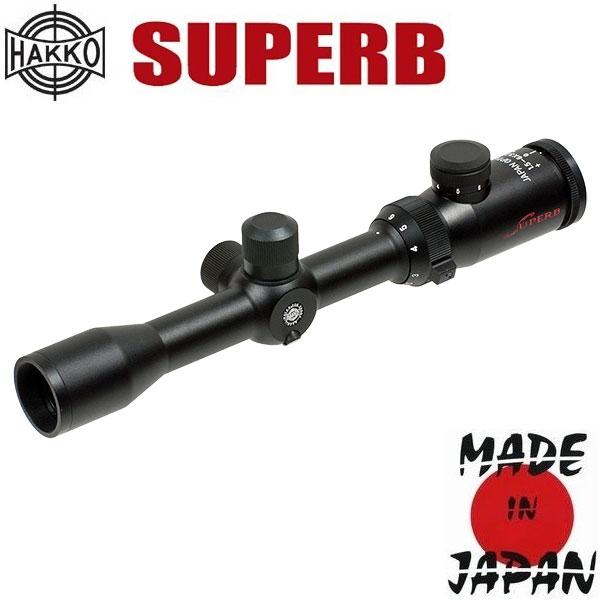 купить Оптический прицел HAKKO Superb 1.5-6x32 (4A IR Dot Red)