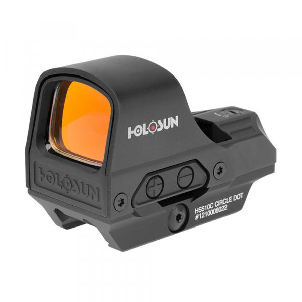 купить Коллиматорный прицел HOLOSUN OpenReflex HS510C Weaver