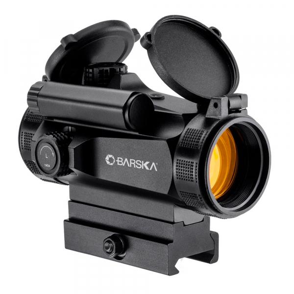купить Коллиматорный прицел BARSKA AR-X Red Dot 1x30 HQ (Weaver/Picatinny)