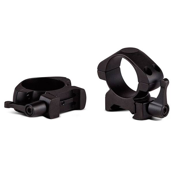 купить Крепление для прицела KONUS STEEL-QR Быстросъемные кольца 25.4мм (средние)