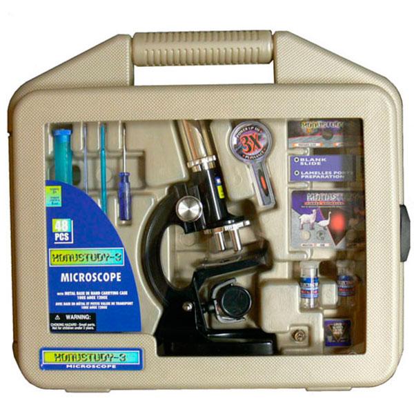 купить Детский микроскоп KONUS KONUSTUDY-3 (100x, 600x, 1200x) (в кейсе)