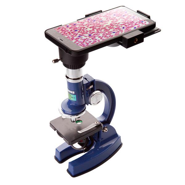 купить Детский микроскоп KONUS KONUSTUDY-4 (100x, 450x, 900x) с адаптером для смартфона