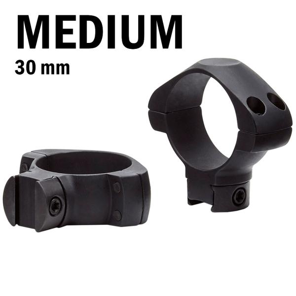 купить Крепление для прицела KONUS STEEL-AG Монтажные кольца 30мм (средней посадки)
