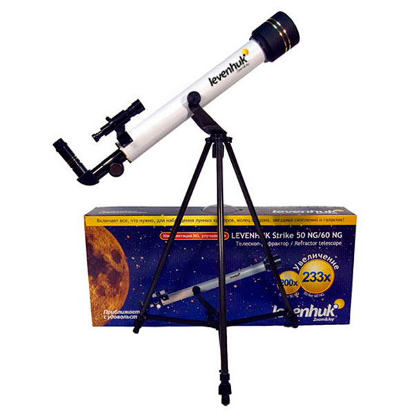 купить Телескоп LEVENHUK Strike 50 NG