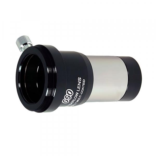 """купить Линза Барлоу GSO 2x, multi-layer coating, 1.25"""" (с адаптером для камеры)"""