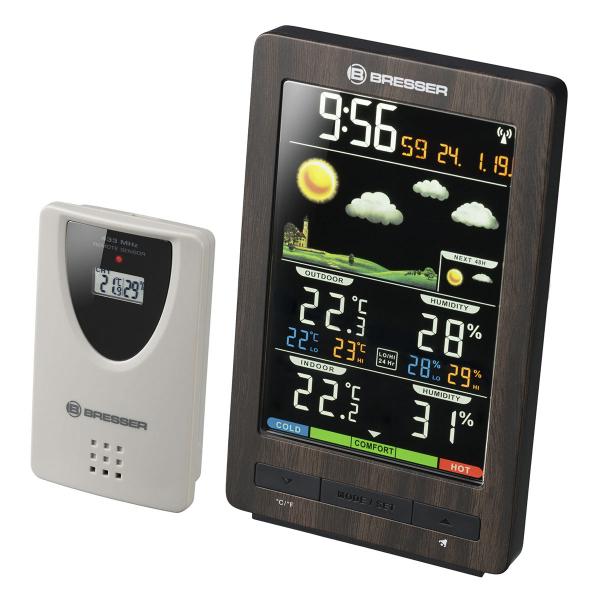 купить Метеостанция BRESSER ClimaTemp WS (Brown)