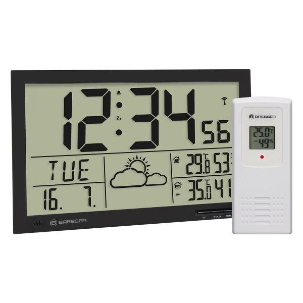 купить Метеостанция BRESSER MyTime Jumbo LCD (White/Black)