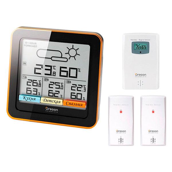 купить Метеостанция OREGON SCIENTIFIC RAR502 Multi-Zone Home Climate Control