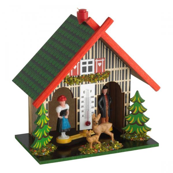 купить Метеостанция TFA Погодный домик с оленями