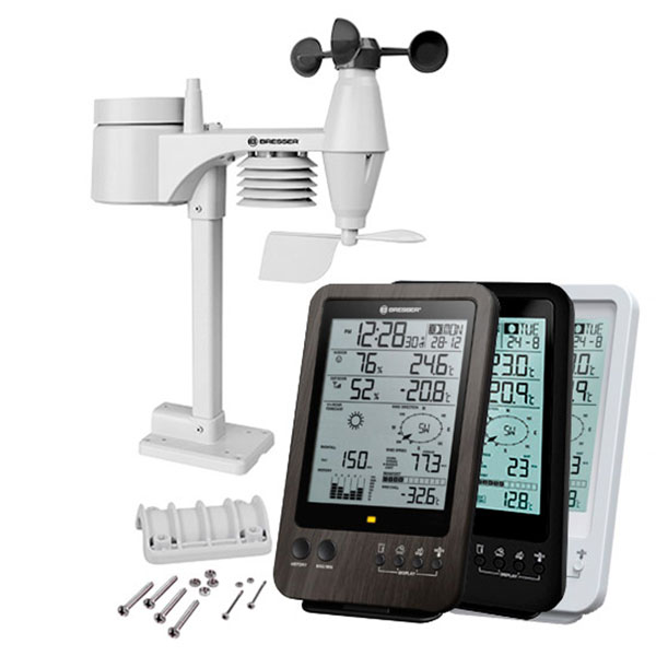 купить Метеостанция BRESSER Weather Center 5-in-1 (Black/White)
