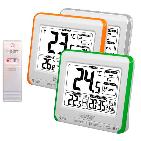 купить Метеостанция LA CROSSE WS6811 (White/Orange, White/Silver, White/Green)