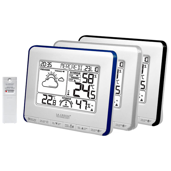 купить Метеостанция LA CROSSE WS6818 (White/Blue, White/Silver, White/Black)