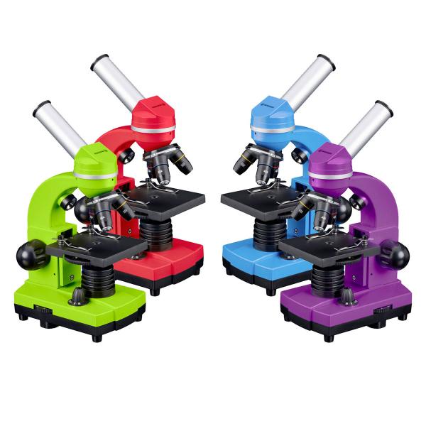 купить Микроскоп BRESSER Biolux SEL 40x-1600x (смартфон-адаптер) Red/Green/Blue/Purple
