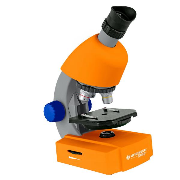 купить Детский микроскоп BRESSER Junior 40x-640x Orange (Base)