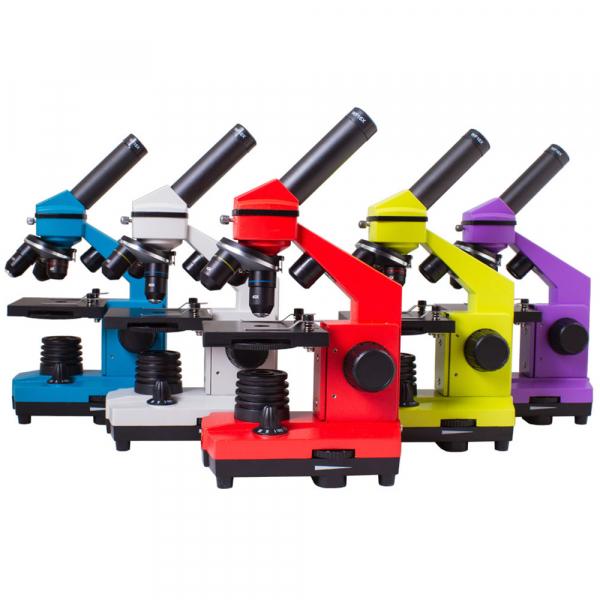 купить Микроскоп LEVENHUK Rainbow 2L PLUS 64x-640x  (в 5 расцветках)