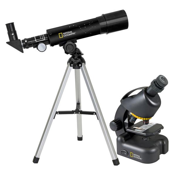 купить Детский микроскоп NATIONAL GEOGRAPHIC Junior 40x-640x + Телескоп 50/360