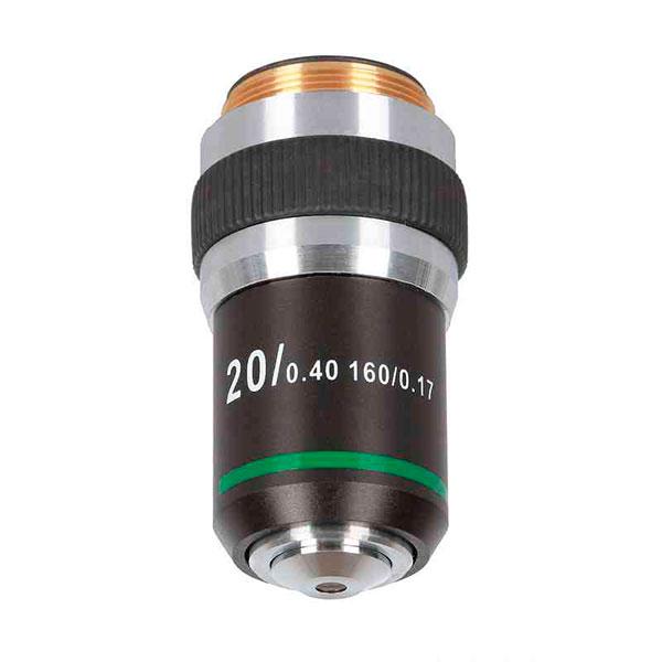 купить Объектив для микроскопа DELTA OPTICAL 20x Genetic Pro