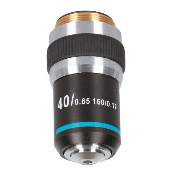 купить Объектив для микроскопа DELTA OPTICAL 40x Genetic Pro