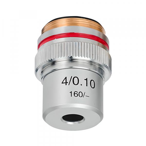 купить Объектив для микроскопа SIGETA Achromatic 4x/0.10