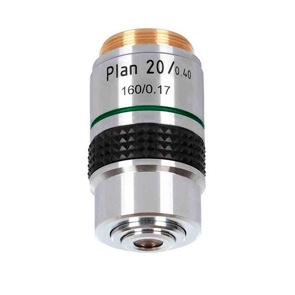 купить Объектив для микроскопа DELTA OPTICAL Plan 20x Genetic Pro