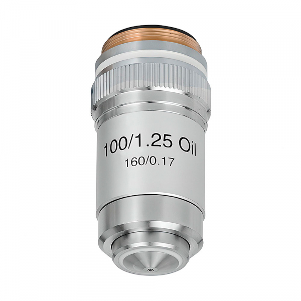 купить Объектив для микроскопа SIGETA Achromatic 100x/1.25 OIL