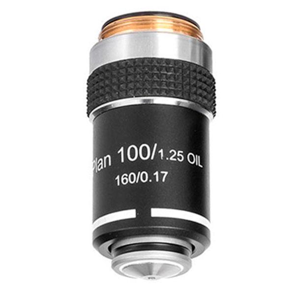 купить Объектив для микроскопа SIGETA Plan Achromatic 100x/1.25 OIL