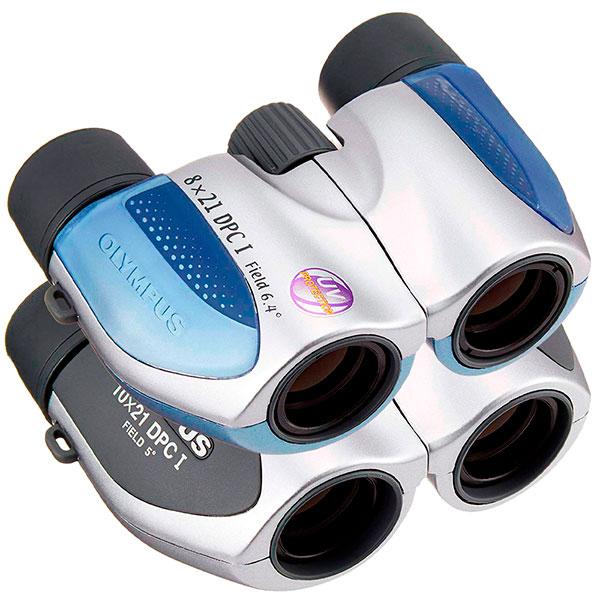 купить Бинокль OLYMPUS DPC I 8x21 (Blue/Silver)