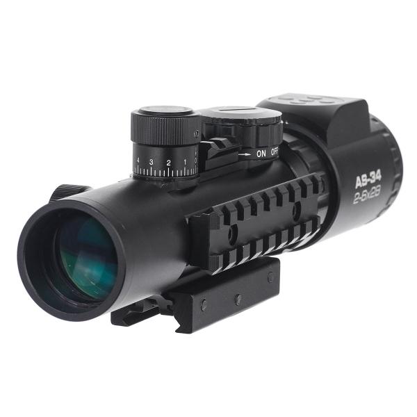 купить Оптический прицел KONUS KONUSPRO AS-34 2-6x28