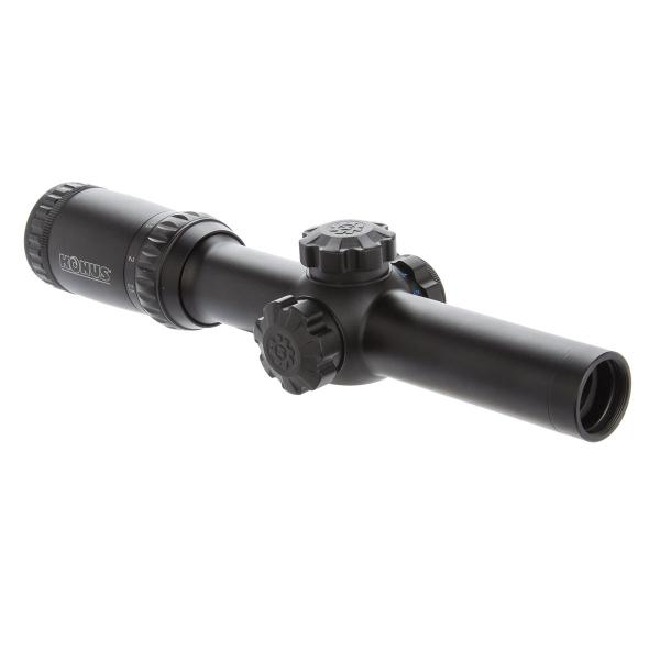 купить Оптический прицел KONUS KONUSPRO M-30 1-4x24 Circle Dot IR