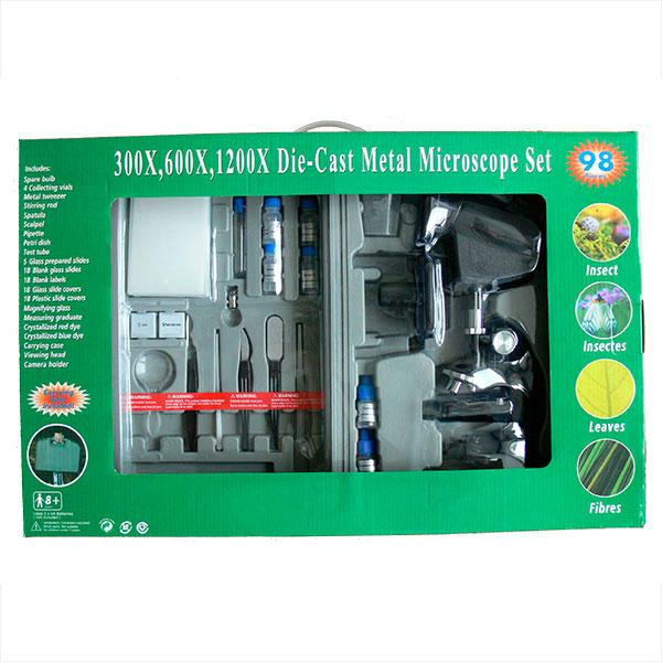 купить Детский микроскоп SIGETA 1200XT (300x, 600x, 1200x) (в кейсе)