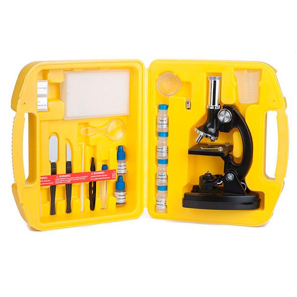 купить Детский микроскоп SIGETA Neptun (300x, 600x, 1200x) в кейсе