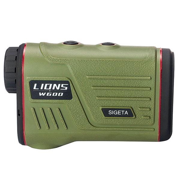 купить Лазерный дальномер SIGETA LIONS W600A