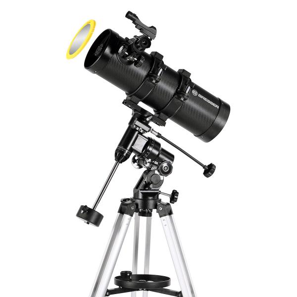 купить Телескоп BRESSER Pluto II 114/500 EQ (carbon)