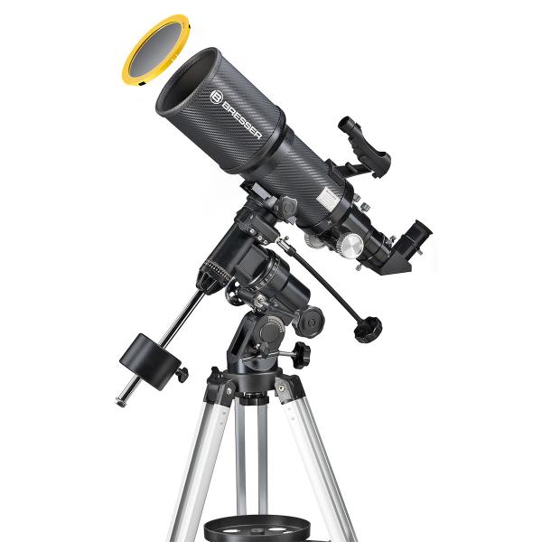 купить Телескоп BRESSER Polaris Solar 102/460 EQ3 (carbon)