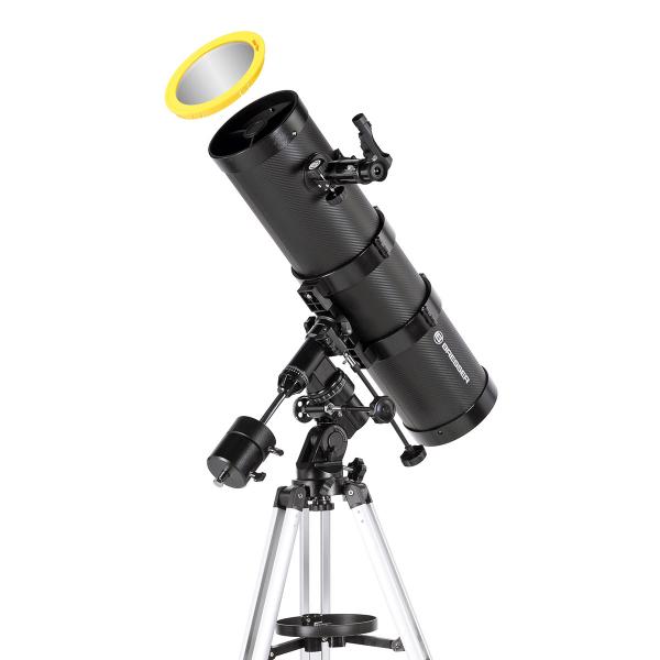 купить Телескоп BRESSER Bresser Pollux 150/1400 EQ2 (carbon)